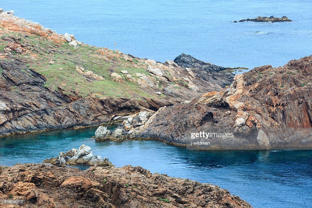 Costa Brava rocky coast, Spain. : Stock-Foto