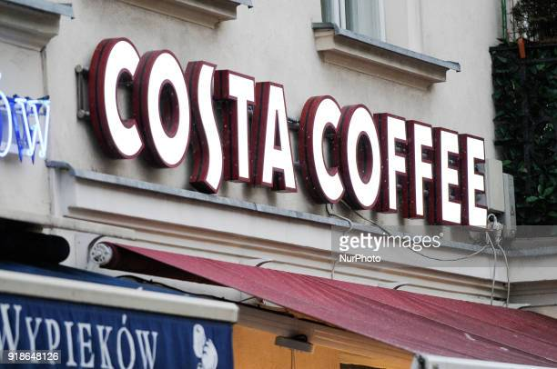 A Costa Coffee establishment is seen in Warsaw Poland on February 14 2018