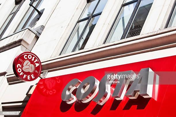 logo de Costa Coffee et nom.