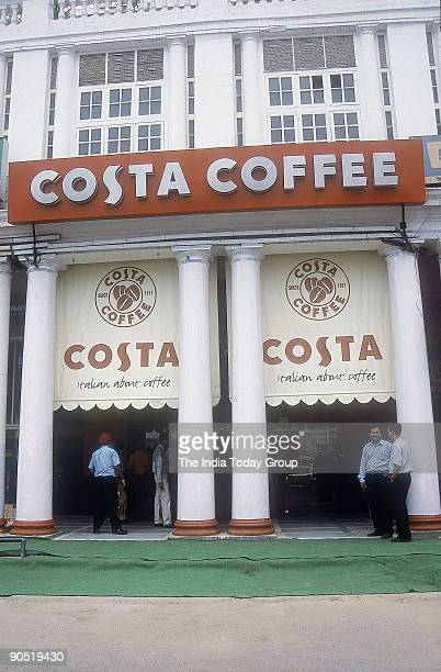 Costa Coffee outlet opened its first outlet outside West Asia and Europe in Delhi's Connaught Place Area India