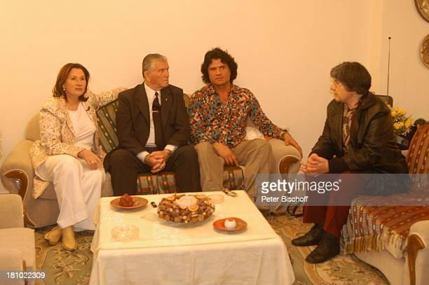 "Costa Cordalis, Ehefrau Ingrid, Onkel Sokrates Fotini, Falitza , NDR-Special: ""Sirtaki, Stars, Olympiafieber - Athen erleben mit H E I K E G ; T Z"",..."