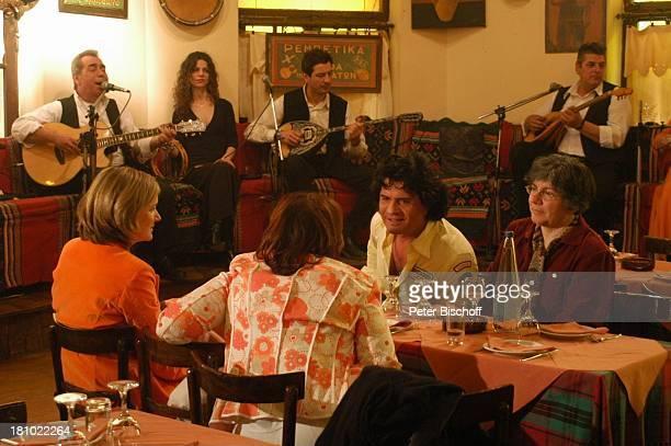 Schwester von CC Ehefrau Ingrid Moderatorin Heike Götz SirtakiRestaurant NDRSpecial Sirtaki Stars Olympiafieber Athen erleben mit H E I K E G T Z...