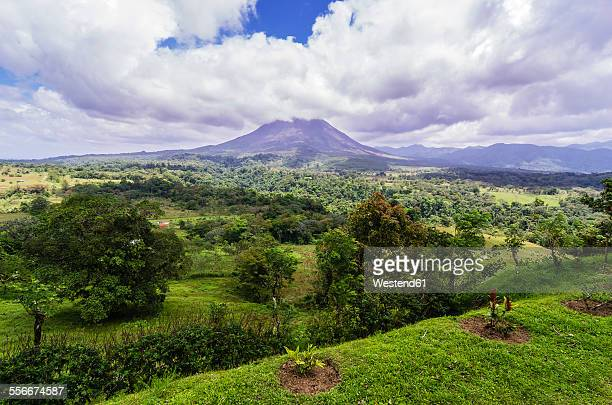 Costa Rica, Arenal Volcano National Park, View to Arenal Volcano