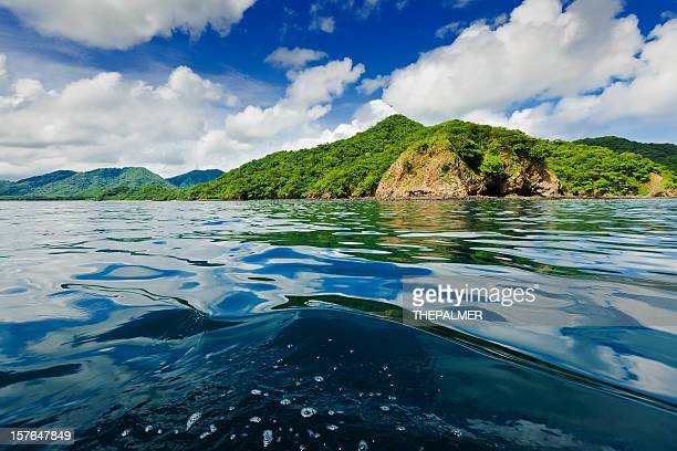 costa rica coast line - costa rica stock photos and pictures