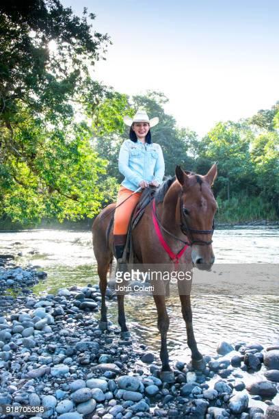 Costa Rica, Horseback Riding, Sarapiqui River