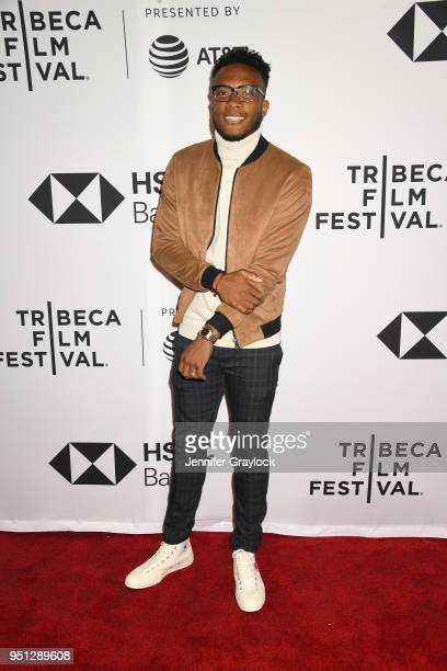 Costa Rica National Team and NYCFC player Rodney Wallace attends as Fox Sports Digital premieres the fivepart soccer docuseries Phenoms at Tribeca...