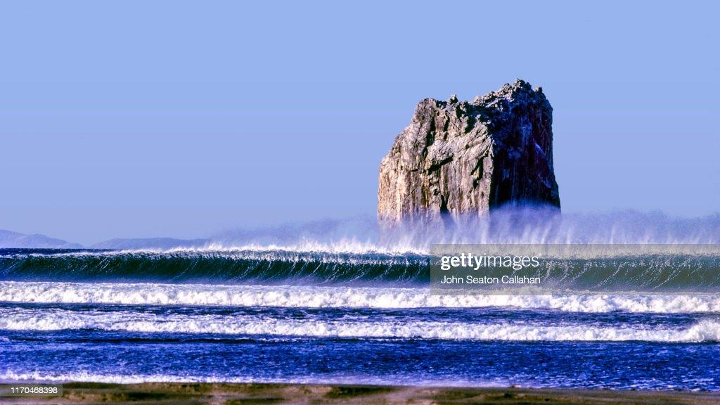 Costa Rica, Playa Naranjo : Foto de stock