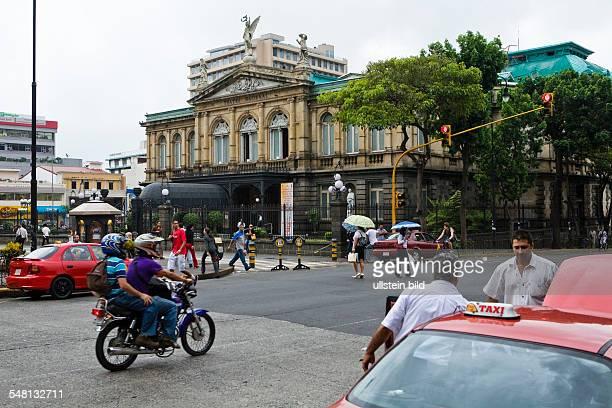 Costa Rica San Jose San Jose - Teatro Nacional downtown