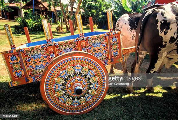 Costa Rica Sarchi HandPainted Oxcart Town Is Famous For Them