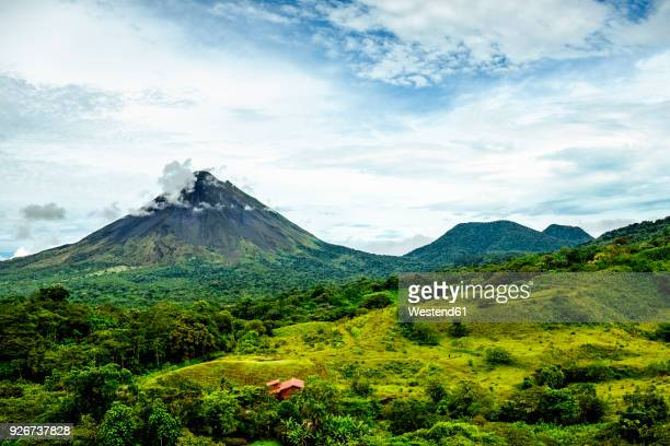 Costa Rica, Views of the Arenal volcano and Cerro Chato