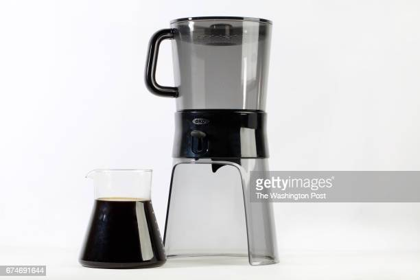 WASHINGTON DC Costa Rican ColdBrew Coffee with OXO system photographed in Washington DC