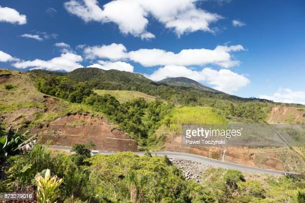 Costa Rican highlands near Cerro Congo in Alajuela province, Costa Rica
