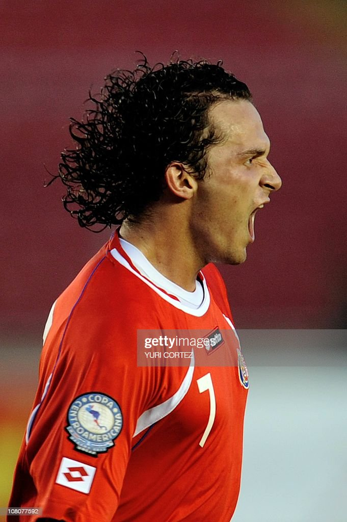 Costa Rican Marcos Urena celebrates the Pictures   Getty Images