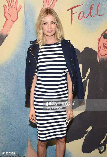 Costa Rican model and entrepreneur Leonora Jimenez attends the Michael Kors fashion show during New York Fashion Week at Vivian Beaumont Theatre on...