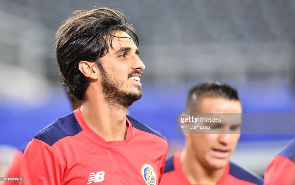 Bryan Ruiz will be Costa Rica's key player. (NICHOLAS KAMM/AFP/Getty Images)