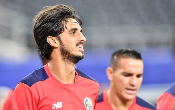 Bryan Ruiz will be Costa Rica's key player. (NICHOLAS KAMM/AFP/Getty Images)
