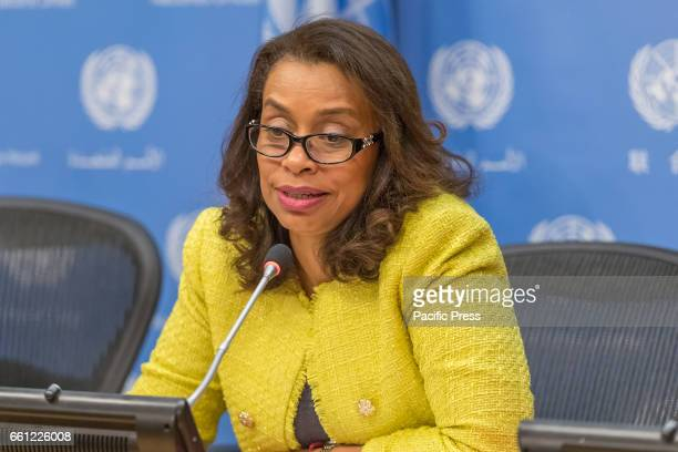 Costa Rican Permanent Representative to the UN Elayne Whyte Gómez President of the UN Conference to Negotiate a Legally Binding Instrument to...