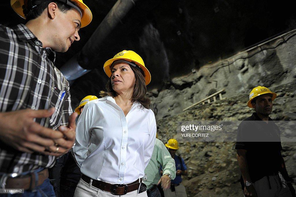 Costa Rican President, Laura Chinchilla : News Photo