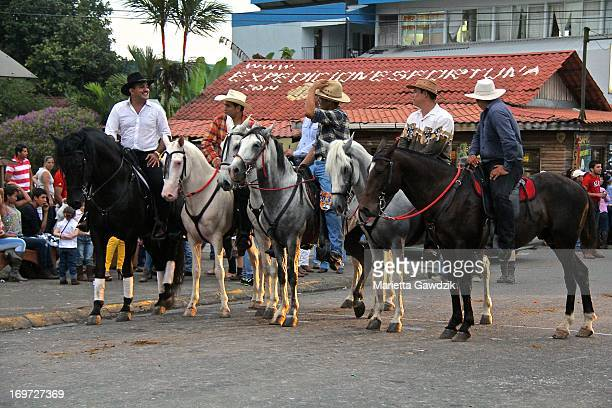 CONTENT] Costa Rican's have yearly horse parades in almost every town around the country These shows are called topes they are quite lovely displays...