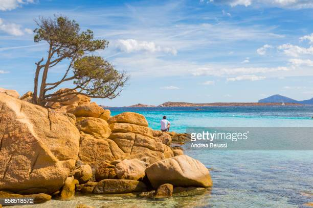 costa smeralda - sardinia stock pictures, royalty-free photos & images