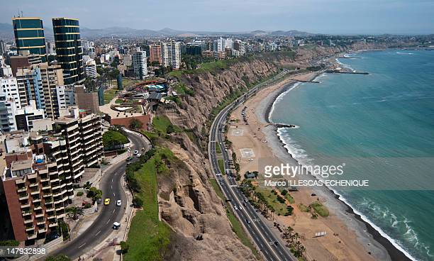 costa verde - lima stock pictures, royalty-free photos & images