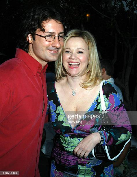 Costaki Economopoulos and Caroline Rhea during Federico Castelluccio Hosts Fris Vodka Benefit For The Michael J Fox Foundation at Skybar at the...