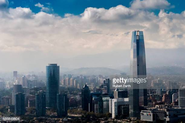 Costanera tower and sky line