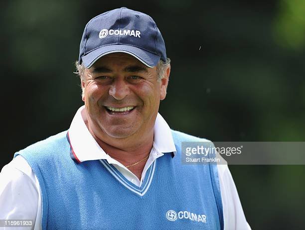 Costantino Rocca of Italy in action during the second round of BMW Italian Open at Royal Park I Roveri on June 10 2011 in Turin Italy