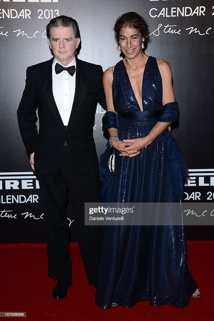 Costantino Ruspoli and Rima Ruspoli attends the '2013 Pirelli Calendar Unveiling' on November 27, 2012 in Rio de Janeiro, Brazil.