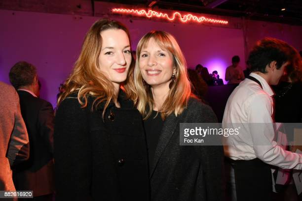 Costanza Canali and Isabelle Teodorescu attend Nektart Wine Party at Palais de Tokyo Art Club on November 29 2017 in Paris France