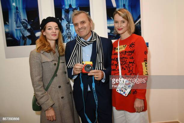 Costanza Canali Jean Charles de Castelbajac and Pauline de Drouas attend the Lignee by jean Charles de Castelbajac Father an sons hosted by Fujifilm...
