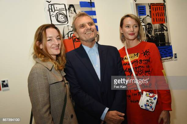 Costanza CanaliJean Charles de Castelbajac Pauline de Drouas attend the Lignee by jean Charles de Castelbajac Father an sons hosted by Fujifilm X...