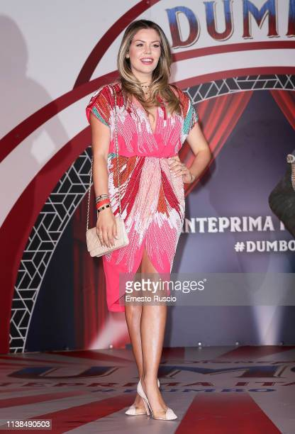 Costanza Caracciolo attends a photocall for Dumbo at The Space Cinema Moderno on March 26 2019 in Rome Italy