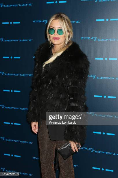 Costanza Caracciolo attends Starlight - An event by Italia Independent on February 25, 2018 in Milan, Italy.