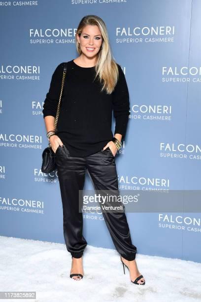 Costanza Caracciolo attends the Falconeri fashion show on September 11 2019 in Verona Italy