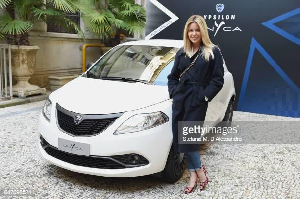 Costanza Caracciolo attends Ypsilon Unyca Libera Il Tuo Stile Press Conference on March 2 2017 in Milan Italy