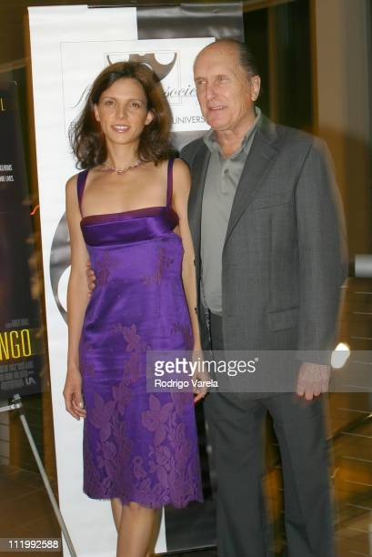Costar Luciana Pedraza and Writer Director and Actor of the Film Assassination Tango Robert Duvall