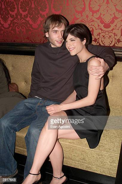 Costars Mark Webber and Selma Blair at the afterparty for the premiere of Fine Line Features' Storytelling at Man Ray in New York City 1/22/2002...