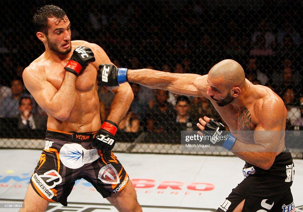 UFC Fight Night: Mousasi v Philippou : News Photo
