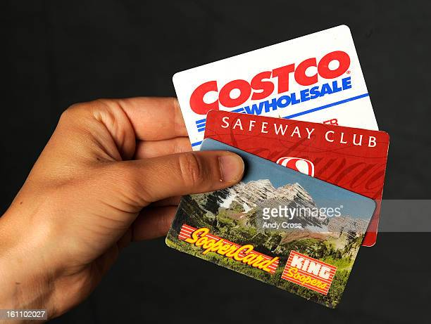 COJUNE 8TH 2010 Costco Safeway and King Soopers grocery discount cards LEAH MILLIS The Denver Post