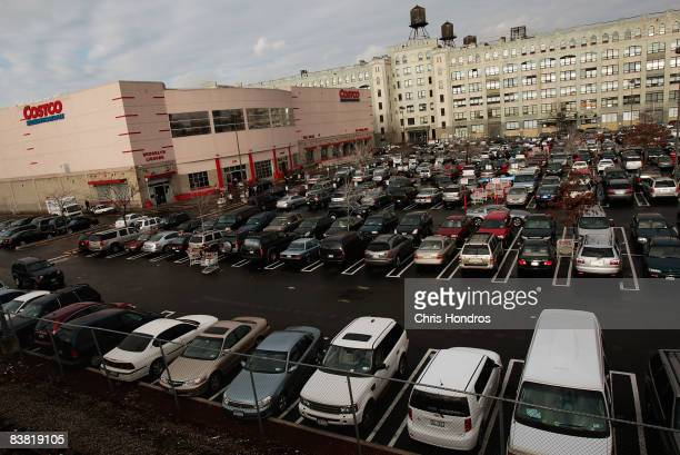 Costco store is seen November 25 2008 in the Brooklyn borough of New York City Consumer spending was down in the third quarter of 2008 as Americans...