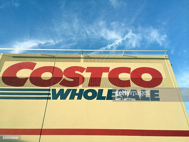 Costco storefront in Santa Maria California