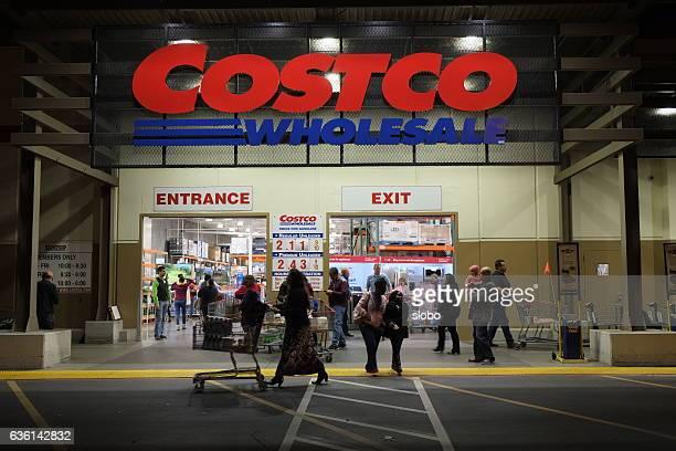 Costco Wholesale at Night