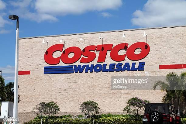 Costco Wholesale building in West Palm Beach, FL, USA