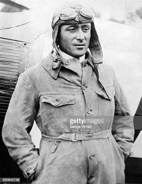 Coste French Pilot Will Attempt FourStage flight from Paris to Buenos Aires 70000 miles Paris France Dieudonne Coste famous French aviator awaits...
