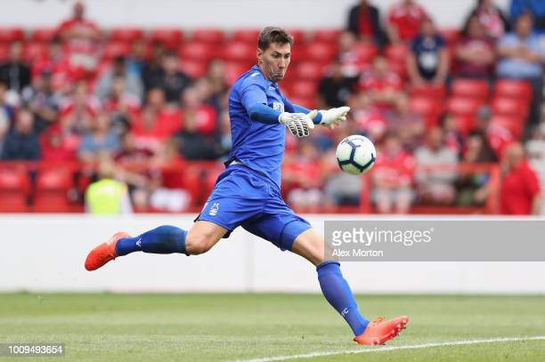 Costel Pantilimon of Nottingham Forest during the pre season friendly match between Nottingham Forest and Bournemouth at City Ground on July 28 2018...