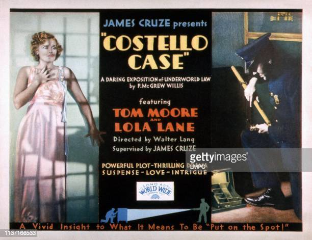 Costello Case lobbycard Lola Lane 1930