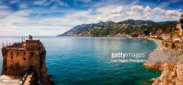 costiera amalfitana - amalfi coast stock photos and pictures