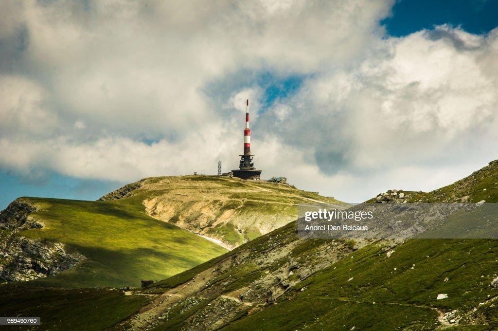 Costila Peak, Bucegi Mountains : Stock Photo