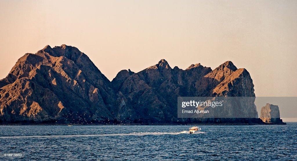 Costline of Muscat, Oman : Stock Photo